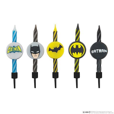 Bougies D Anniversaire Batman Dc Comics