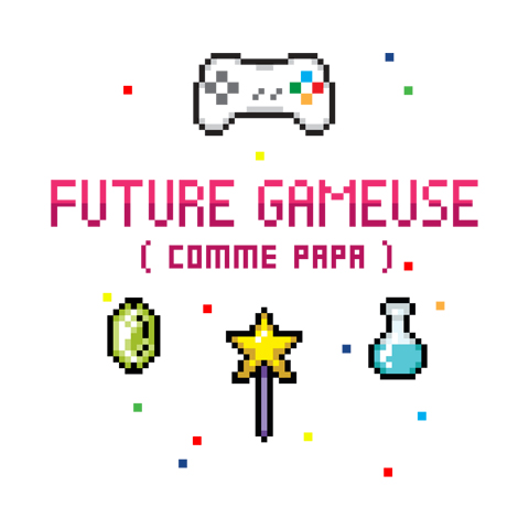 Future gameuse comme papa