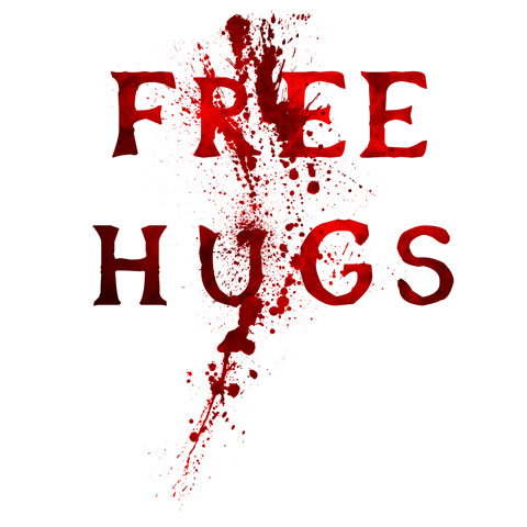 Free Hugs Blood