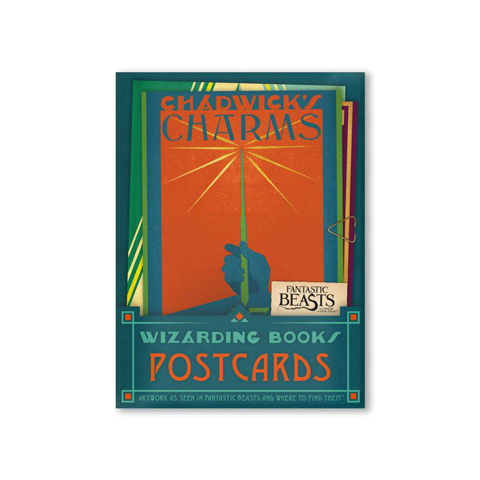 Lot de 20 cartes postales - Wizarding Books